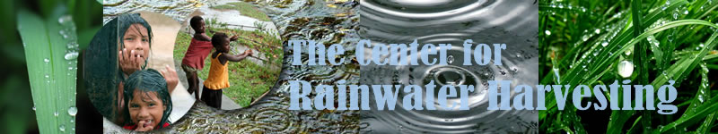 The Center for Rainwater Harvesting